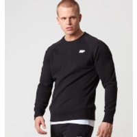 Classic Crew Neck Sweatshirt - XL - Black