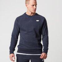 Classic Crew Neck Sweatshirt - XL - Navy