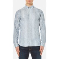Selected Homme Mens Two Spun Long Sleeve Shirt - Papyrus - M