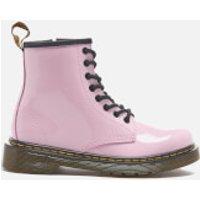 Dr. Martens Kids' Delaney Patent Lamper Lace Boots - Baby Pink - UK 2 Kids - Pink