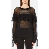 Wildfox Womens Mirage Sweatshirt - Clean Black - XS