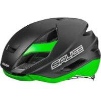 Salice Levante Helmet - S-M/52-58cm - Black/Green