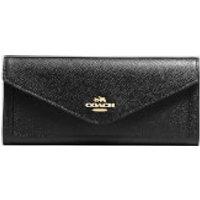 Coach Women's Soft Wallet - Black