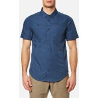 Craghoppers Men's Kiwi Trek Short Sleeve Shirt - Vintage Indigo - S - Blue