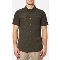 Craghoppers Mens NosiLife Adventure Short Sleeve Shirt - Dark Khaki - L
