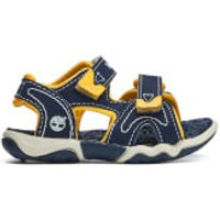 Timberland Toddlers' Adventure Seeker 2 Strap Sandals - Navy With Yellow - UK 5 Toddlers - Blue