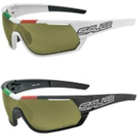 Salice 016 Italian Edition IR Infrared Sunglasses - White/Grey
