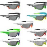 Salice 016 CRX Photochromic Sunglasses - White/Orange/Grey