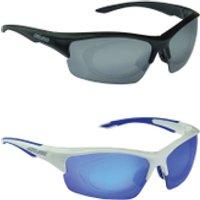 Salice 838 RW Mirror Sunglasses - White/Blue