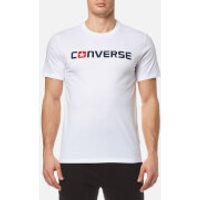 Converse Mens Core Wordmark T-Shirt - White - XXL - White