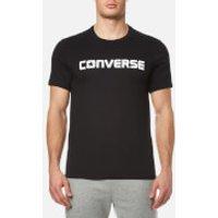 Converse Mens Core Wordmark T-Shirt - Black - XXL - Black