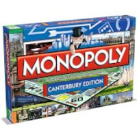 Monopoly Board Game - Canterbury Edition - Monopoly Gifts