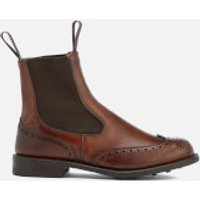 Knutsford by Tricker's Women's Silvia Leather Chelsea Boots - Chestnut Burnished - UK 3 - Tan