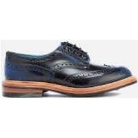 Knutsford by Tricker's Men's Bourton Leather Brogues - Black/Blue - UK 7 - Black