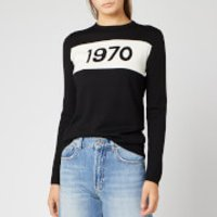 Bella Freud Women's 1970 Merino Jumper - Black - XS