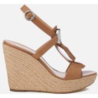 MICHAEL MICHAEL KORS Women's Darien Wedged Sandals - Cashew - US 10/UK 8 - Tan