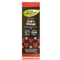 The Raw Chocolate Company Organic Goji & Orange Bar - 1Bar