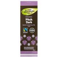 The Raw Chocolate Company Organic Pitch Dark Bar - 1Bar