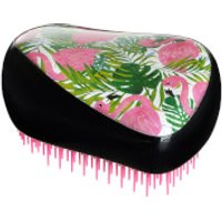 Tangle Teezer Compact Styler Skinny Dip Hair Brush - Palm Print