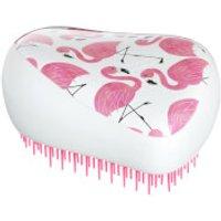 Tangle Teezer Compact Styler Skinny Dip Hair Brush - White Flamingo