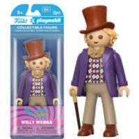 Funko x Playmobil: Willy Wonka - Willy Wonka Action Figure - Playmobil Gifts