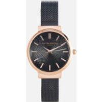 olivia-burton-women-hackney-black-mesh-watch-rose-gold