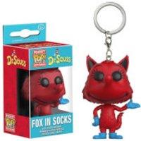 Dr. Seuss Fox In Socks Pocket Pop! Key Chain