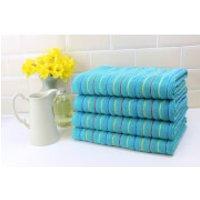 Restmor 100% Cotton 4 Pack Bath Sheets (500 GSM) - Teal