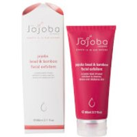 The Jojoba Company Jojoba Bead and Bamboo Facial Exfoliant 80ml