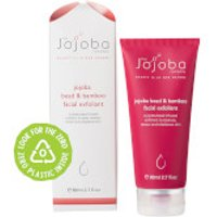 The Jojoba Company Jojoba Bead and Bamboo Facial Exfoliant 80ml