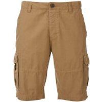 Threadbare Mens Hulk Cargo Shorts - Tan - W36