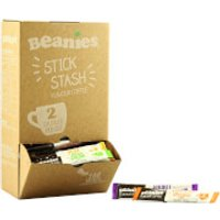 Beanies Mixed Flavour Instant Coffee Sticks - 100 Sachets