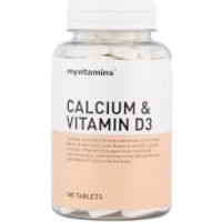 Calcium & Vitamin D3 - 3 Month (180 Tablets)