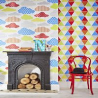 Graham & Brown Kids' Harlequin Brights Wallpaper