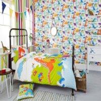 Superfresco Easy Kids' Dinoroar Dinosaur Multi Wallpaper