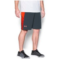Under Armour Men's Supervent Shorts - Stealth Grey/Phoenix Fire - L - Stealth Grey/Phoenix Fire