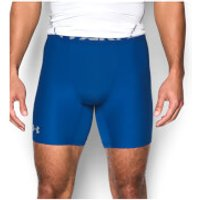 Under Armour Men's HeatGear Armour Mid Compression Shorts - Royal - M - Royal