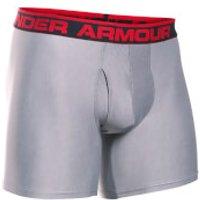 Under Armour Mens Original Series 6 Inch Boxerjock - Grey - L - Grey