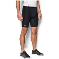 Under Armour Heat Gear 2.0 Long Compression Shorts - Black - XL - Black