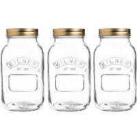 Kilner Preserve Jars 1L (Set of 3)