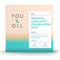 You & Oil Nourish & Balance Soap for Combination Skin 100g