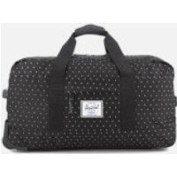 Herschel Supply Co. Wheelie Outfitter Travel Duffle Bag - Black Gridlock