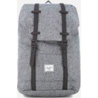 Herschel Supply Co. Retreat Mid-Volume Backpack - Scattered Raven Crosshatch/Black Rubber
