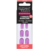 Elegant Touch Express Polish Nails - Iridescent Lilac