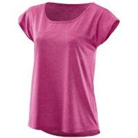 Skins Plus Womens Code Cap T-Shirt - Magenta/Marle - M - Pink