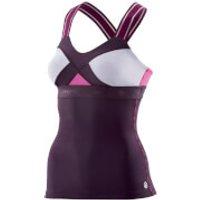 Skins DNAmic Womens Tank Top - Hyssop - XS - Purple