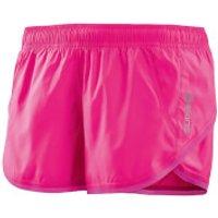 Skins Plus Womens System Run Shorts - Magenta - S - Pink