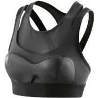 Skins A400 Womens Compression Crop Top - Empire Black - M - Black