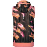 Asics Womens FuzeX Sleeveless Hoody - Sea Wave/Black - XS