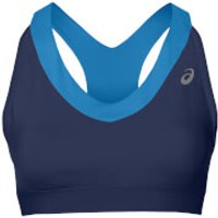Asics Womens Race Sports Run Bra - Indigo Blue - XS - Blue